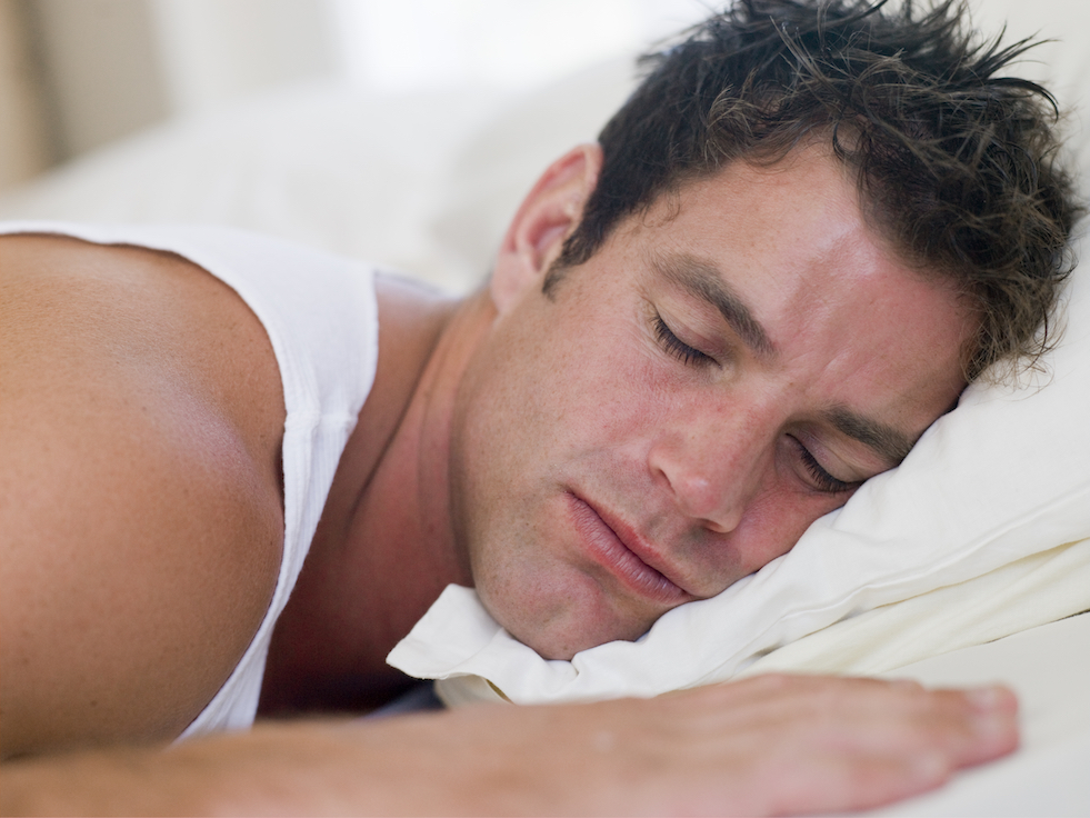 man lying in bed sleeping SKbEMj0Bj 2